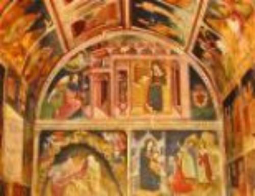 Visita alla cappella dell'Annunziata di notte
