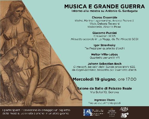 MUSICA E GRANDE GUERRA. Intorno alla mostra su Antonio G. Santagata