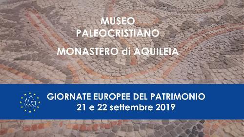 MUSEO PALEOCRISTIANO - APERTURA STRAORDINARIA
