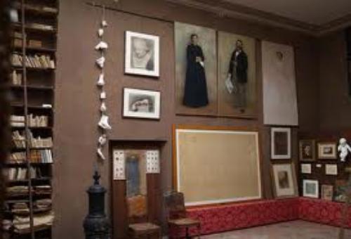 Studio del pittore Giuseppe Pellizza da Volpedo
