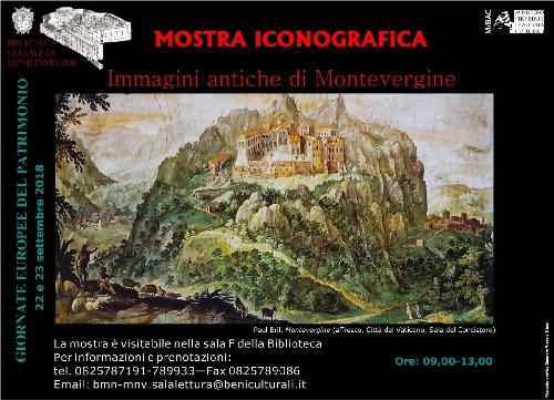 Immagini antiche di Montevergine: una mostra iconografica