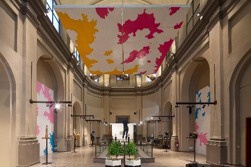 """Visita guidata alla mostra """"Il Cielo ritrovato"""" di Roberto Fanari"""