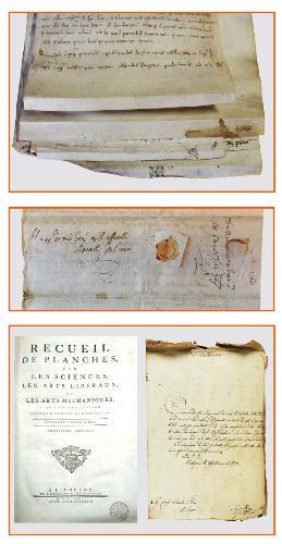 Storie a lieto fine: documenti e libri recuperati