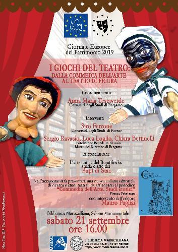I giochi del teatro: dalla commedia dell'arte al teatro di figura