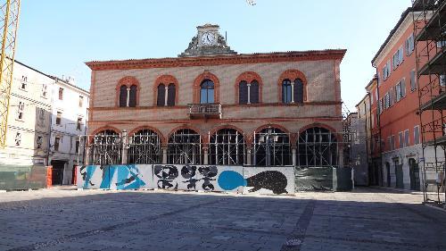Il Palazzo Municipale di Mirandola. Stato dei lavori post sisma
