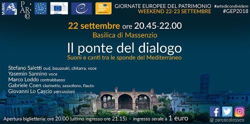 Il ponte del dialogo. Suoni e canti tra le sponde del Mediterraneo