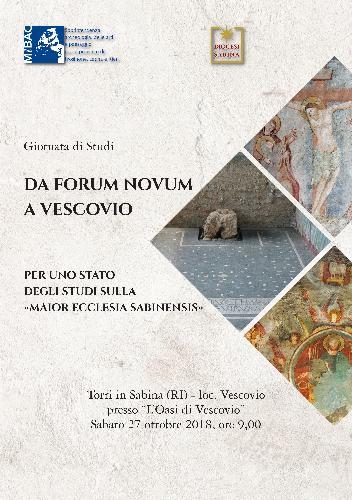Da Forum Novum a Vescovio  Per uno stato degli studi sulla maior ecclesia Sabinensis