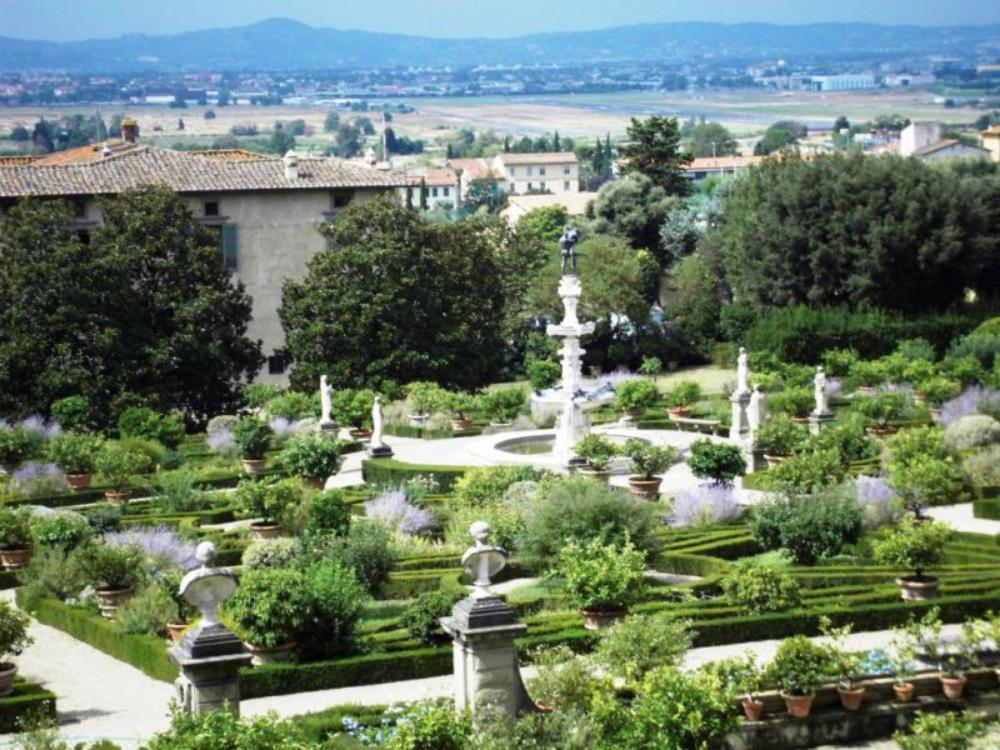 Firenze. Giardino della Villa di Castello. Apertura strordinaria