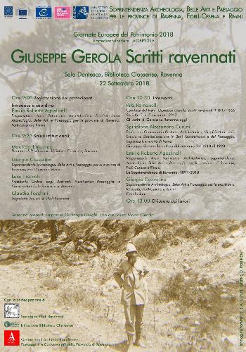 """Giuseppe Gerola. Scritti ravennati"""