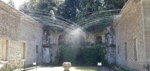 Giochi d'acqua a Villa Lante