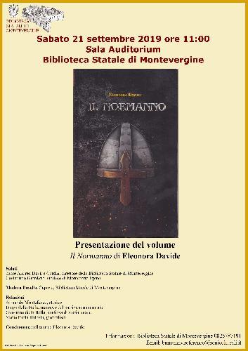 """Presentazione del libro """"Il Normanno"""", di Eleonora Davide"""