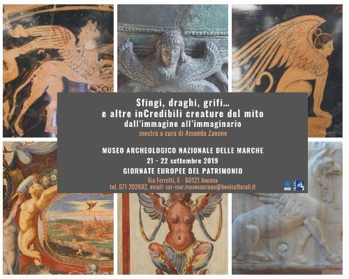 Sfingi, draghi, grifi… e altre inCredibili creature del mito dall'immagine all'immaginario