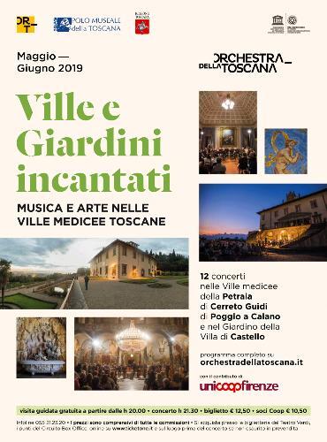 Ville e Giardini incantati 2019. Musica e arte nelle Ville medicee Toscane
