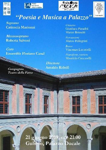 Poesia e musica a Palazzo