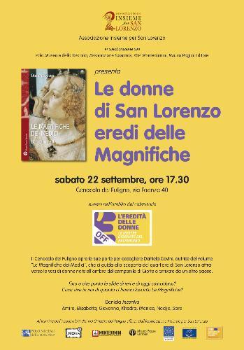 Le donne di San Lorenzo eredi delle Magnifiche
