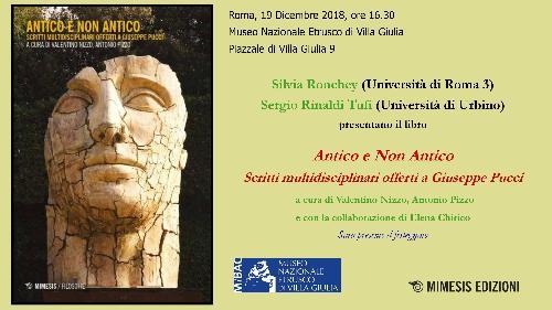 Presentazione libro Antico e non Antico - Scritti multidisciplinari offerti