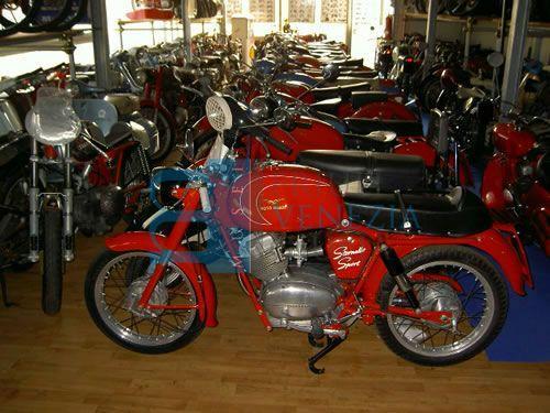 Museo moto d'epoca di Umberto e Flavio Nigris
