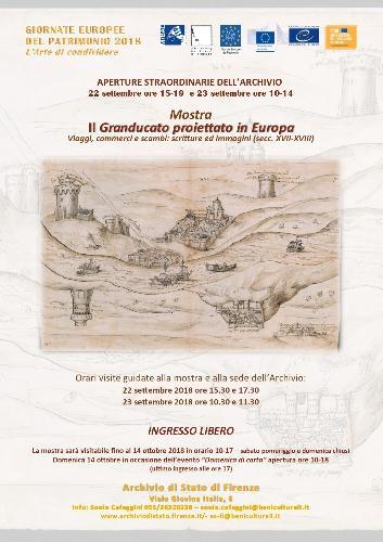 Il Granducato proiettato in Europa. Viaggi, commerci, scambi: scritture ed immagini (secc. XVII-XVIII)