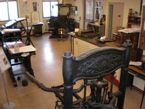 Museo della Stampa Il Segno tipografico Lodovico Pavoni