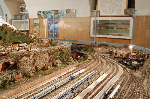 Plastici ferroviari Cidneo e Villa d'Almè