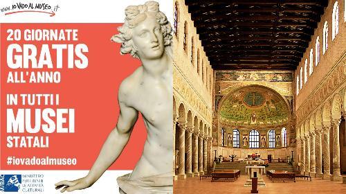 #iovadoalmuseo | Per Sant'Apollinare ingresso gratuito alla Basilica