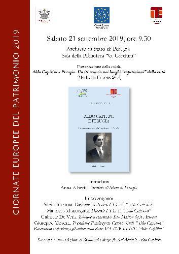 Aldo Capitini e Perugia. Un itinerario nei luoghi capitiniani della città