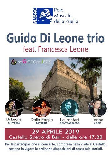 Concerto Jazz: Guido Di Leone trio feat. Francesca Leone