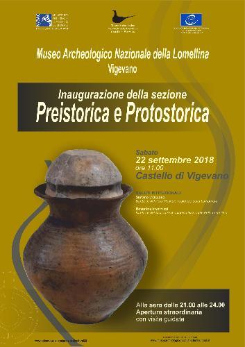 Inaugurazione della sezione preistorica e protostorica