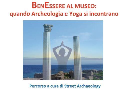 Benessere nell'area archeologica: quando archeologia e yoga si incontrano