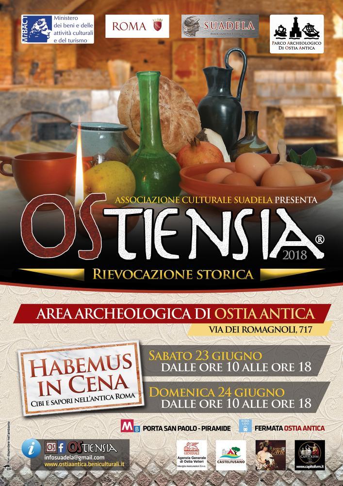 Ostiensia: Habemus in cena - rievocazioni storiche a Ostia Antica