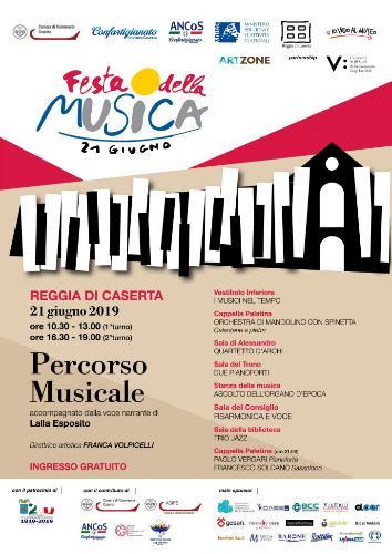 Festa della Musica 2019 alla Reggia di Caserta