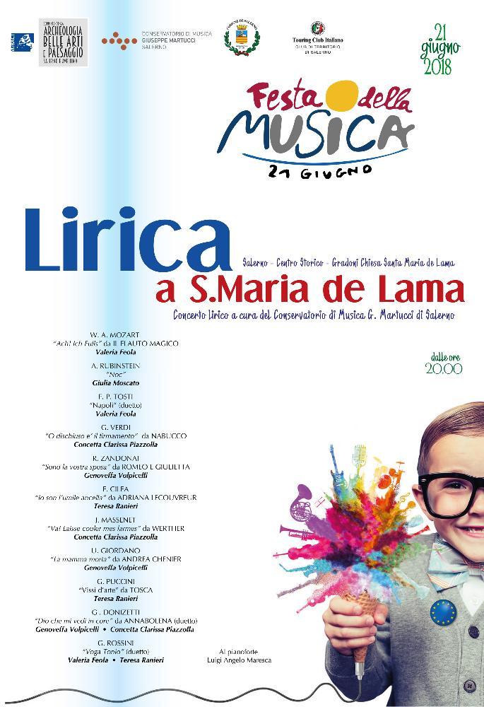 Lirica a Santa Maria de Lama