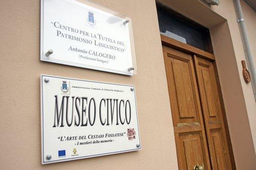 Museo dei cestai fossatesi  di Fossato Serralta